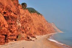 侏罗纪的海岸 图库摄影