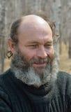 供以人员与胡子15 免版税库存图片