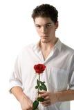 供以人员玫瑰色年轻人 库存照片
