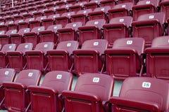 供以座位体育场 免版税库存图片