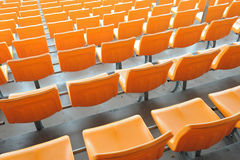 供以座位体育场 库存图片
