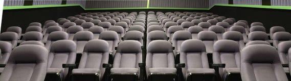 供以座位剧院 免版税库存照片