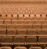供以座位剧院 图库摄影