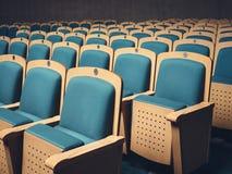 供以座位在观众席企业研讨会的行 库存照片