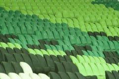 供以座位闲置的体育场 库存照片