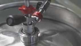 供应的小桶啤酒 影视素材
