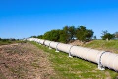 供气行业油管 免版税库存图片