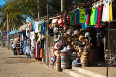 供营商街市Cabo圣卢卡斯 图库摄影