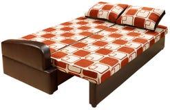 供被变换的查出的沙发住宿 免版税库存照片