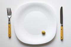 供食的橄榄 免版税库存照片