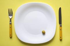 供食的橄榄 图库摄影