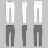 供以人员时尚长裤 免版税库存照片