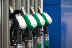 供给燃料泵汽油 免版税库存照片