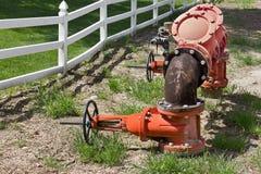 供水系统管子 免版税库存图片