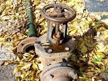 供水进行的门  免版税图库摄影