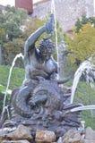 供水系统雕象  免版税库存照片