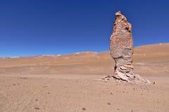侵蚀雕刻的岩石 库存图片