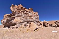 侵蚀雕刻的岩石 免版税库存图片