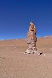 侵蚀雕刻的岩石 免版税图库摄影