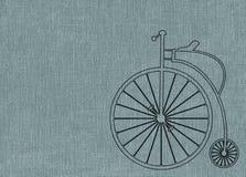便士极少量自行车 皇族释放例证