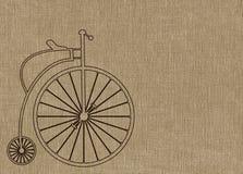 便士极少量自行车 向量例证