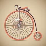 便士极少量自行车 免版税库存图片