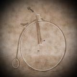 便士极少量自行车- 3D回报 向量例证