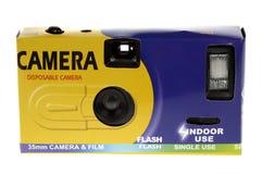 便宜地一次性的照相机 免版税图库摄影