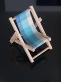 轻便折叠躺椅 免版税库存照片