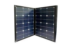 便携式的太阳能电池盘区 免版税图库摄影