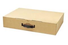 便携式计算机包装的箱子 免版税库存照片