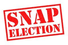 仓促的选举 免版税库存照片