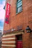 促进公共安全的一个巨大的博物馆在宾夕法尼亚,费城 图库摄影