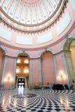 俄亥俄圆形建筑的州议会议场 免版税库存图片