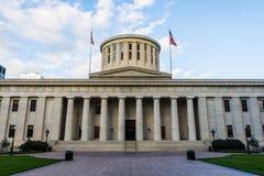 俄亥俄州议会议场在哥伦布,俄亥俄 库存照片