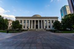 俄亥俄州议会议场在哥伦布,俄亥俄 免版税图库摄影
