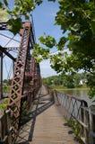 俄亥俄桥梁 免版税图库摄影