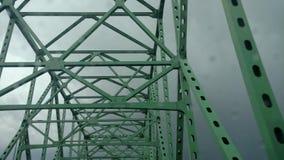 俄亥俄桥梁 免版税库存照片