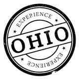 俄亥俄邮票橡胶难看的东西 免版税库存照片