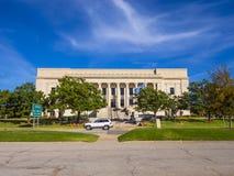 俄克拉何马司法中心在俄克拉何马市-俄克拉何马市-俄克拉何马- 2017年10月18日 免版税库存图片