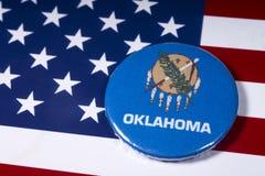 俄克拉何马州在美国 免版税库存照片