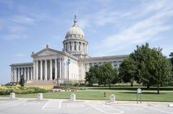 俄克拉何马状态国会大厦美国外部  免版税库存图片