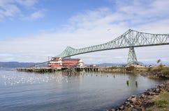俄勒冈和华盛顿州桥梁 库存图片