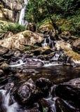俄勒冈小瀑布山,银落国家公园 库存图片