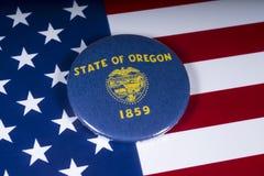 俄勒冈州在美国 免版税库存图片