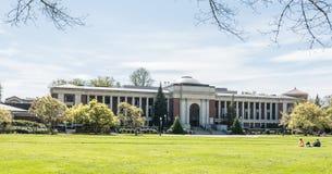 俄勒冈州立大学纪念联合,春天2016年 图库摄影