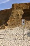 俄勒冈海岸林肯城海滩侵蚀 库存照片