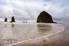 俄勒冈海岸线2 库存照片