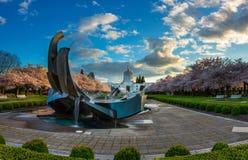 俄勒冈状态国会大厦公园 免版税库存照片