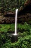 俄勒冈的小瀑布山,银落国家公园 库存照片